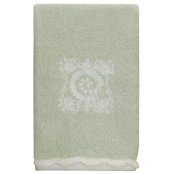 Maltby 100% Cotton Fingertip Towel by House of Hampton